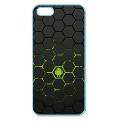 Green Android Honeycomb  Apple Seamless iPhone 5 Case (Color)