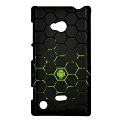 Green Android Honeycomb  Nokia Lumia 720