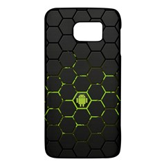 Green Android Honeycomb  Galaxy S6