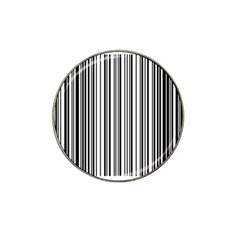 Barcode Pattern Hat Clip Ball Marker (4 pack)