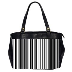 Barcode Pattern Office Handbags (2 Sides)