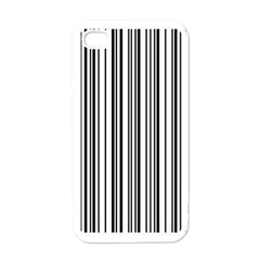 Barcode Pattern Apple iPhone 4 Case (White)