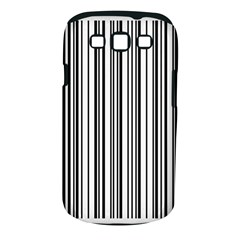 Barcode Pattern Samsung Galaxy S III Classic Hardshell Case (PC+Silicone)