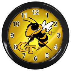 Georgia Institute Of Technology Ga Tech Wall Clocks (Black)