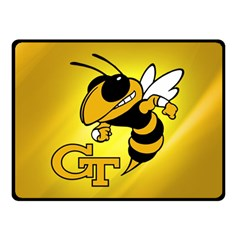 Georgia Institute Of Technology Ga Tech Double Sided Fleece Blanket (Small)