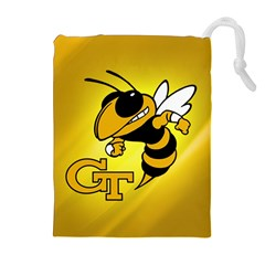 Georgia Institute Of Technology Ga Tech Drawstring Pouches (Extra Large)
