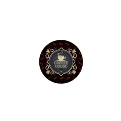Coffee House 1  Mini Buttons