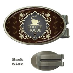 Coffee House Money Clips (Oval)