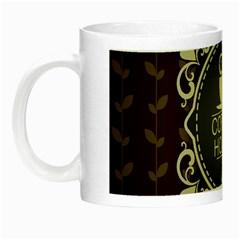 Coffee House Night Luminous Mugs