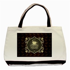 Coffee House Basic Tote Bag