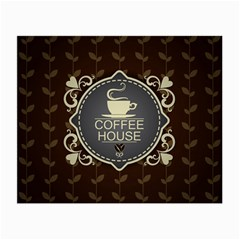 Coffee House Small Glasses Cloth (2-Side)