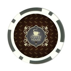 Coffee House Poker Chip Card Guard (10 pack)