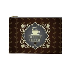 Coffee House Cosmetic Bag (Large)