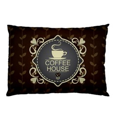 Coffee House Pillow Case (Two Sides)