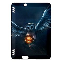Owl And Fire Ball Kindle Fire HDX Hardshell Case