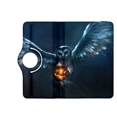 Owl And Fire Ball Kindle Fire HDX 8.9  Flip 360 Case