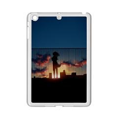 Art Sunset Anime Afternoon iPad Mini 2 Enamel Coated Cases