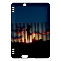 Art Sunset Anime Afternoon Kindle Fire HDX Hardshell Case
