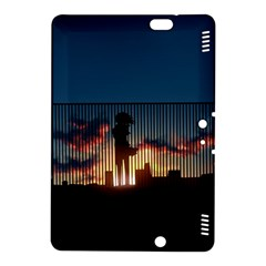 Art Sunset Anime Afternoon Kindle Fire HDX 8.9  Hardshell Case