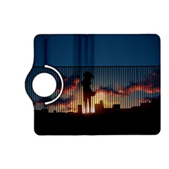 Art Sunset Anime Afternoon Kindle Fire HD (2013) Flip 360 Case