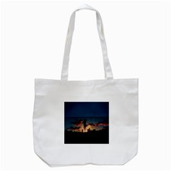 Art Sunset Anime Afternoon Tote Bag (White)