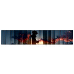 Art Sunset Anime Afternoon Flano Scarf (Small)