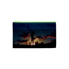 Art Sunset Anime Afternoon Cosmetic Bag (XS)