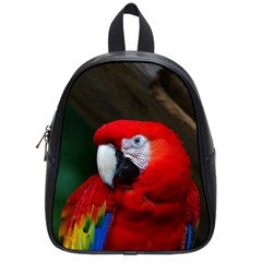Scarlet Macaw Bird School Bags (Small)