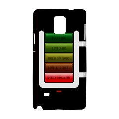 Black Energy Battery Life Samsung Galaxy Note 4 Hardshell Case