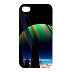 Planets In Space Stars Apple iPhone 4/4S Premium Hardshell Case