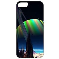 Planets In Space Stars Apple iPhone 5 Classic Hardshell Case