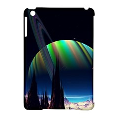 Planets In Space Stars Apple iPad Mini Hardshell Case (Compatible with Smart Cover)