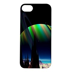 Planets In Space Stars Apple iPhone 5S/ SE Hardshell Case