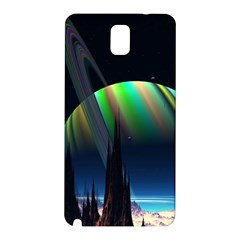 Planets In Space Stars Samsung Galaxy Note 3 N9005 Hardshell Back Case