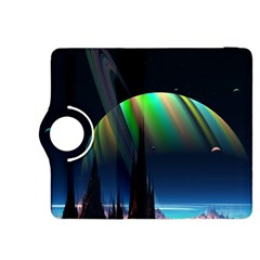 Planets In Space Stars Kindle Fire HDX 8.9  Flip 360 Case
