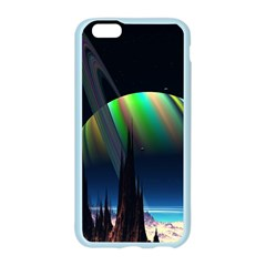 Planets In Space Stars Apple Seamless iPhone 6/6S Case (Color)