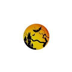 Halloween Night Terrors 1  Mini Magnets