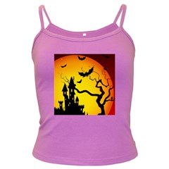 Halloween Night Terrors Dark Spaghetti Tank