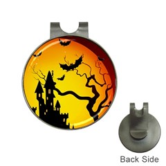 Halloween Night Terrors Hat Clips with Golf Markers
