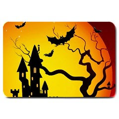 Halloween Night Terrors Large Doormat