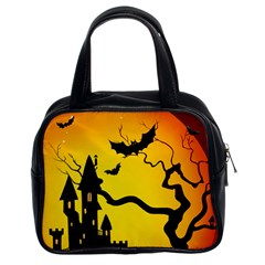 Halloween Night Terrors Classic Handbags (2 Sides)