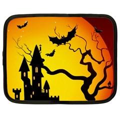 Halloween Night Terrors Netbook Case (XXL)
