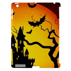 Halloween Night Terrors Apple iPad 3/4 Hardshell Case (Compatible with Smart Cover)