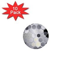 Honeycomb Pattern 1  Mini Buttons (10 pack)