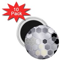 Honeycomb Pattern 1.75  Magnets (10 pack)