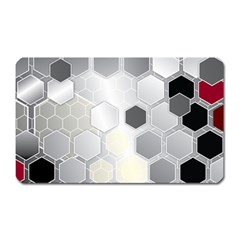 Honeycomb Pattern Magnet (Rectangular)