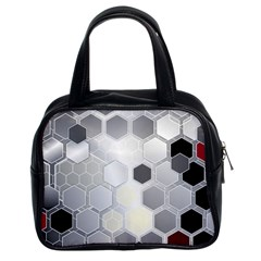 Honeycomb Pattern Classic Handbags (2 Sides)