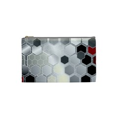 Honeycomb Pattern Cosmetic Bag (Small)