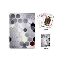 Honeycomb Pattern Playing Cards (Mini)