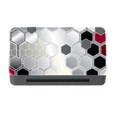 Honeycomb Pattern Memory Card Reader with CF